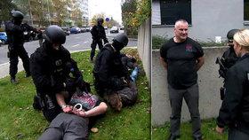 Trapas zásahovky při zatýkání Kajínka: Musel jim poradit, jak mu nasadit pouta!