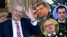 """""""Plno žluči. Vyměňme ho."""" Politici se opřeli do Zemanova poselství Česku"""