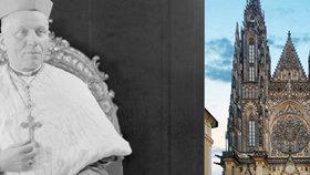 Poslední cesta kardinála Berana: Po 50 letech spočinul v katedrále sv. Víta