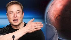 Kolonizace Marsu zachrání lidstvo před 3. světovou válkou, tvrdí Elon Musk