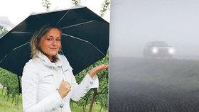 Úterý přinese mlhy, déšť a teploty do 23 °C. Hrozí i bouřky, sledujte radar