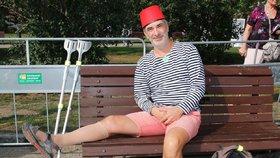 Petr Vacek z Ulice o berlích: V noze mu hnil kus stromu!
