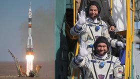 Kosmonauti měli štěstí. Za nehodou rakety může být sabotáž, tvrdí Rusové
