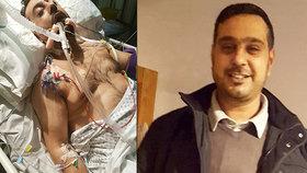 Brutální útočníci uřízli otci obě uši! Synovi usekli půlku ruky