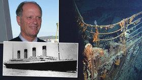 Další tajemství Titaniku: Vrak našli náhodou, námořníci pátrali po jaderných ponorkách