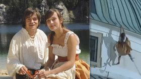 Dramatické natáčení Pekla s princeznou: Mádl od krve a visící Voříšková!
