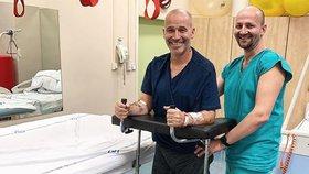 Musil nemůže chodit, ale dostal překvapivý dárek: Stál 20 tisíc
