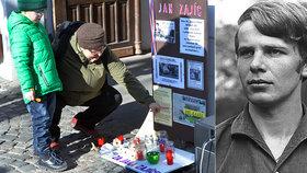 """Následovník Palacha zemřel před 50 lety. Jan Zajíc varoval: """"Také se upálím!"""""""