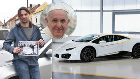 Mám »lambo« od papeže! Nevěřící Vladislav z Chrudimska vyhrál v boží loterii superauto