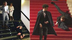"""Sjíždět schody """"na Vančuru""""? Partner Ciny chce krkolomný pád ze Lvů vyučovat!"""