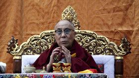 Nemocný dalajlama opustí nemocnici. Infekci dýchacích cest doléčí pilulkami