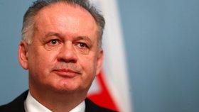 Kiska končí v politice. Slovenský exprezident jde na operaci a bojí se o své zdraví