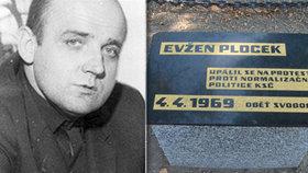 Před 50 lety se upálil Evžen Plocek: Chtěl být jako Palach, nebo se zabil kvůli nešťastné lásce?