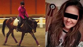 Jitku (†23) na dostizích v Pardubicích zavalil kůň: Její milovaná zvířata ji doprovodí i do nebe