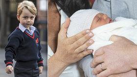 Žárlí George na Archieho? Malý princ provalil jméno bratrance už v lednu!