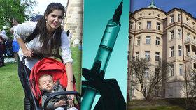 Strach o miminko byl silnější než bolesti. Denise (30) při těhotenství píchali tlusté injekce do břicha