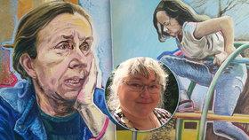 Malířka Romana (51): Po hlavě spadla do díry a vážně se zranila, malování ji vrátilo do života