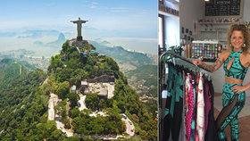 Brazílie versus Praha: Aneta (32) se v exotické zemi zamilovala do tamní módy, teď ji nabízí Pražanům