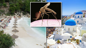 Čeští turisté, pozor! Hrozba v Řecku: Smrtelná horečka