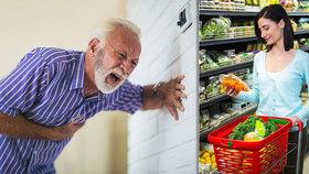Bojíte se infarktu? Uberte na mase a přidejte ovoce a zeleninu, radí studie