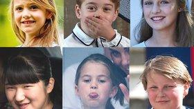 Tohle jsou děti z královských rodin! Komu to sluší nejvíc?