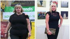 Na pohřbu matky ji ponížili, proto začala hubnout. Jak se jí podařilo shodit 40 kilo?