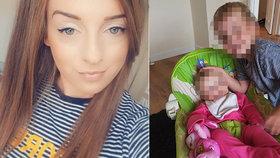 Mladá maminka (†25) se předávkovala prášky na spaní: Její děti si mezitím hrály hned vedle