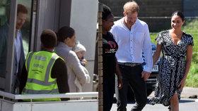 Meghan a Harry v Africe: Strach o život Archieho! Schovávají ho! Potíže na letišti a zákazy