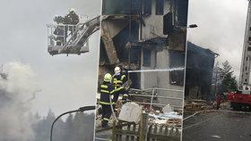 Policie zná totožnost mrtvého z domu v Lenoře: Exploze připravila o domov deset lidí