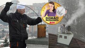 Topná sezóna začíná: Tisíce Čechů neví, jak pečovat o svůj kotel. A domovní komíny?