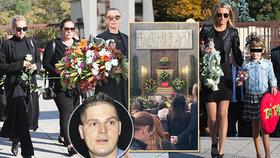 Pohřeb expřítele Dary Rolins Petra Vlasáka (†45): Srdce od dcery i podnikatel Kočka