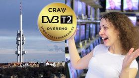 Nové DVB-T2 vysílání se blíží! Otestujte si ho už teď! Kdo přejde jako první?