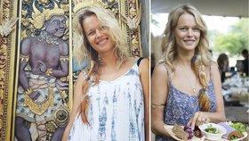 Eva Herzigová (45) byla jednou z modelek přehlídky Max Mara na.