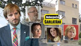 """Šéf zdravotnictví Vojtěch změnil plán: Na šarlatány dohlédne jen """"živnosťák"""""""