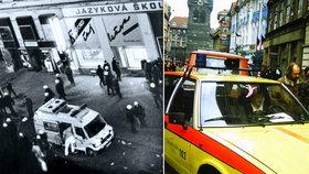 """S Havlem na balkoně a """"Tlačte sanitku, tlačte sanitku!"""" Záchranář popsal události listopadu 1989"""