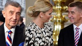 """Babiš o přešlapu s ruskou trikolórou na kravatě: """"Já to nepoznal."""" A projev prý psal sám"""