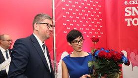 """Novou šéfkou TOP 09 je Pekarová Adamová. Na oslavence Pospíšila se """"vykašlali"""""""