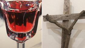 Malba věrná fotografii, ukřižovaná větev. Žižkovská galerie se s rokem 2019 loučí tím nejlepším