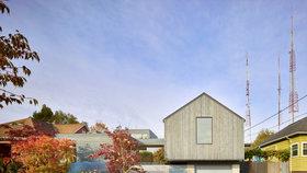 Moderní dům zdobí design a pastelové barvy. Vešlo se i umělecké studio!