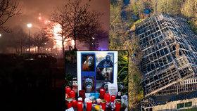 Novoroční tragédie v zoo: Požár zabil třicet opic!