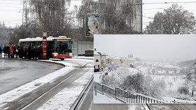 Českem se prohnaly zimní bouřky, tisíce lidí jsou bez proudu. A přidá se sníh, sledujte radar Blesku