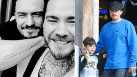 Orlando Bloom a jeho suvenýr z Prahy: Tetování s chybou!