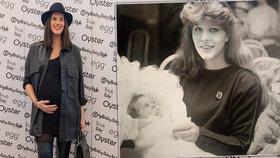Aneta Vignerová krátce před porodem ukázala fotku maminky! To je podoba