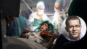Virtuosce Dagmar (53) operovali nádor na mozku, ona při tom hrála na housle! Unikátní video obletělo svět