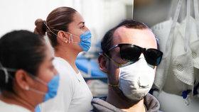 Zoufalství lékařky Terezy: Darujte zdravotníkům respirátory, prosí