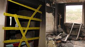 Muž žárlil na expřítelkyni, tak zapálil dům plný lidí! Policie ho zadržela