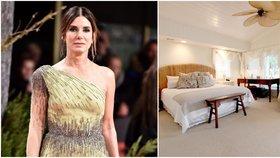 S celebritami v (jejich) posteli: Tady usínají Lewis Hamilton nebo Sandra Bullock!