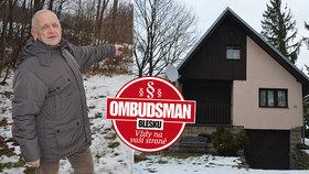 Chatu v Beskydech za dva miliony nemůže prodat! Soused »zatrhl« příjezdovou cestu!