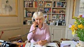 Vévodkyně Camilla ukázala svůj domov: Takový nepořádek se jen tak nevidí!