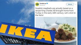 """IKEA zveřejnila recept na slavné masové kuličky: """"Bez koňského masa to není ono!"""" vtipkují lidé na sociálních sítích"""